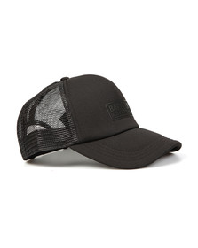 Barbour International Mens Black Heli Trucker Cap