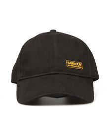 Barbour International Mens Black Norton Drill Cap