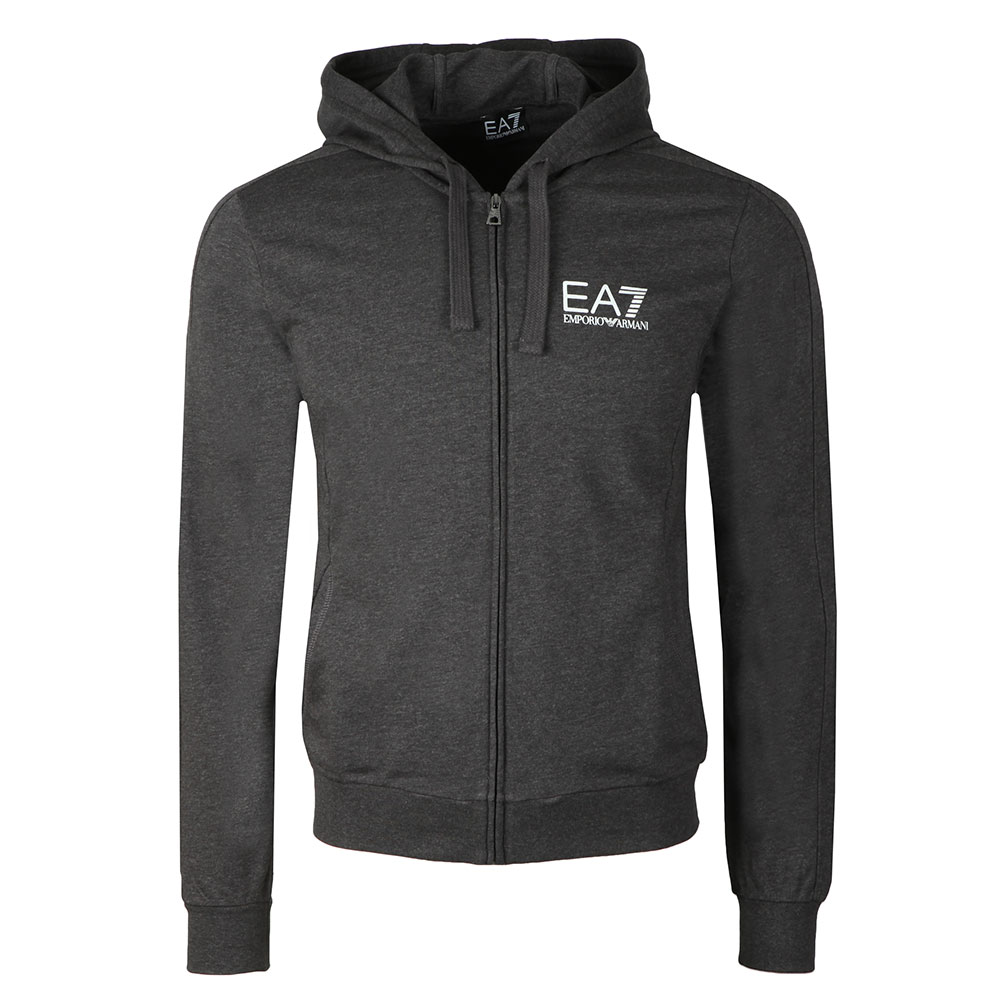 Metallic Small Logo Full Zip Hoody main image