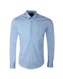 Emporio Armani Mens Blue 8N1C09 Shirt