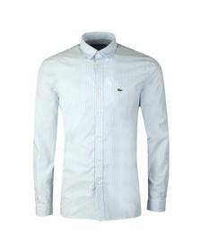 Lacoste Mens Blue CH 5382 L/S Stripe Shirt
