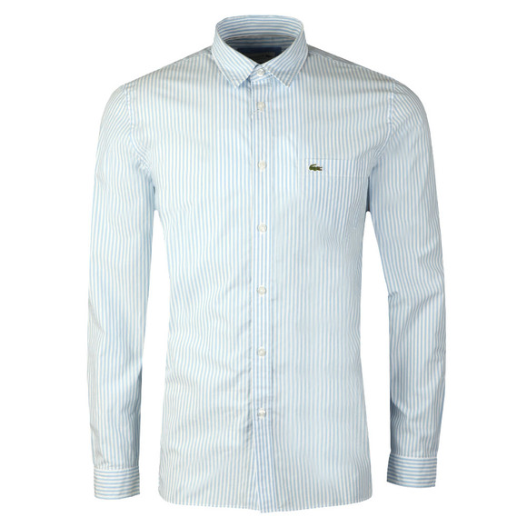 Lacoste Mens Blue CH 5382 L/S Stripe Shirt main image