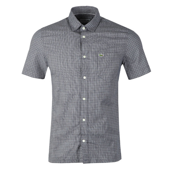 Lacoste Mens Blue S/S CH5014 Shirt main image
