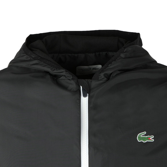 Lacoste Sport Mens Black Bh3363 Jacket main image