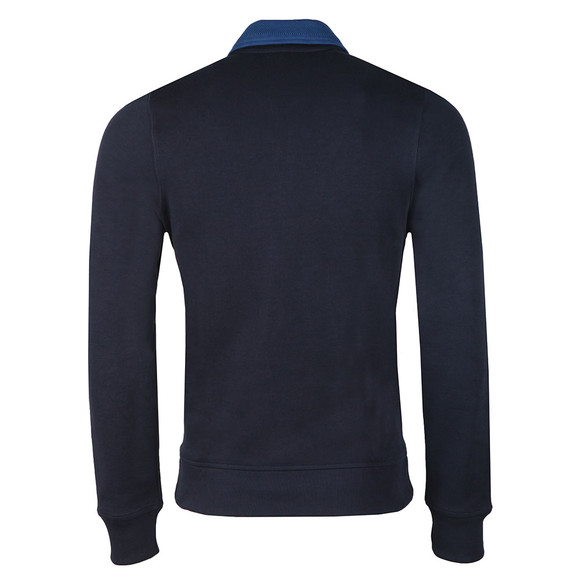 Lacoste Mens Blue SH3229 1/2 Zip Sweat main image