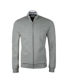 Lacoste Mens Grey SH3292 Full zip Sweat
