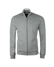 Lacoste Mens Grey SH3292 Full zip Sweat