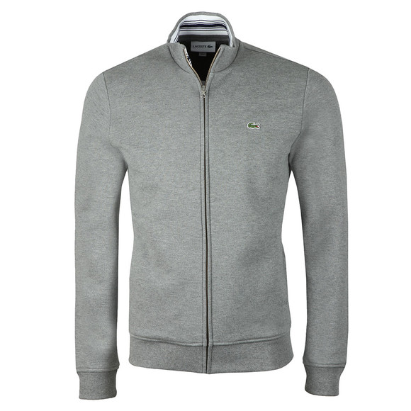 Lacoste Mens Grey SH3292 Full zip Sweat main image