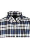 Lacoste Mens Blue S/S CH7261 Check Shirt