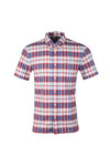 Lacoste Mens Multicoloured S/S CH7261 Check Shirt