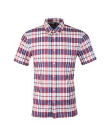 Lacoste Mens Multicoloured S/S CH7261 Check Shirt