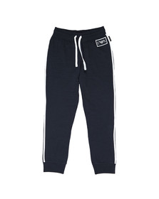 Emporio Armani Mens Blue Taping Joggers