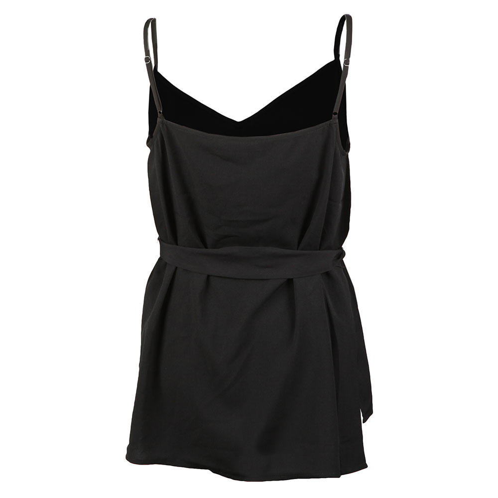 Dalma Crepe Strappy V Neck Top main image