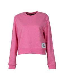 Calvin Klein Jeans Womens Pink Harrison True Icon Sweatshirt