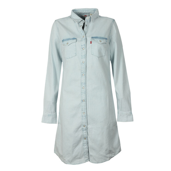 Levi's Womens Blue Iconic Western Dress main image