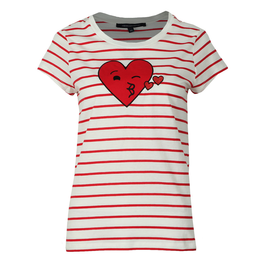 Heart Crew Neck Tee main image