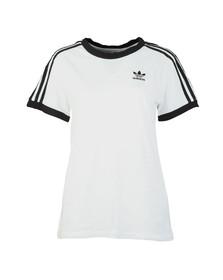 Adidas Originals Womens White 3 Stripes Tee