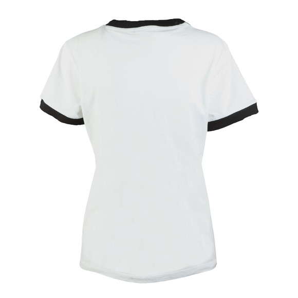 Adidas Originals Womens White 3 Stripes Tee main image