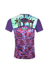 Pretty Green X Beatles Mens Purple S/S Beatles Meanie Tee