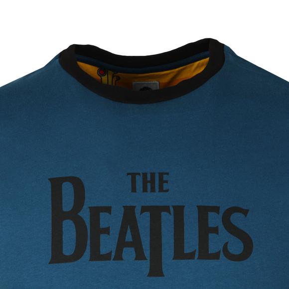 Pretty Green X Beatles Mens Blue S/S Beatles Print Tee main image