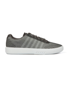 K Swiss Mens Grey Court Addison Trainer