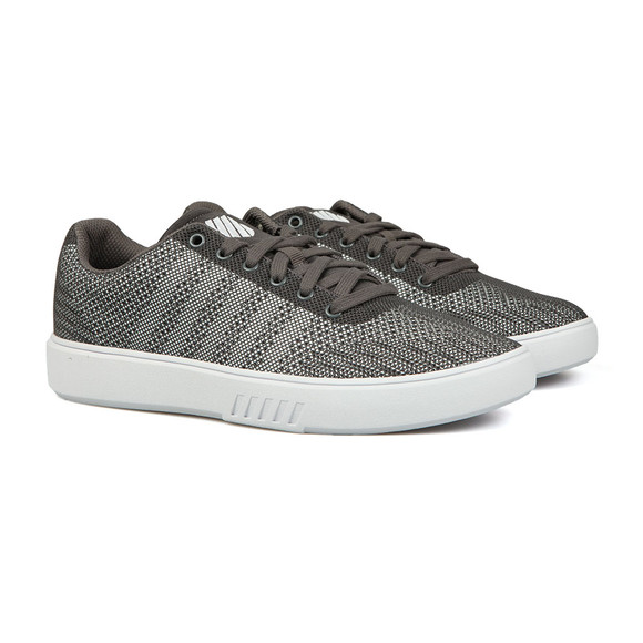 K Swiss Mens Grey Court Addison Trainer  main image