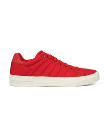 K Swiss Mens Red Court Frasco CVS Trainer
