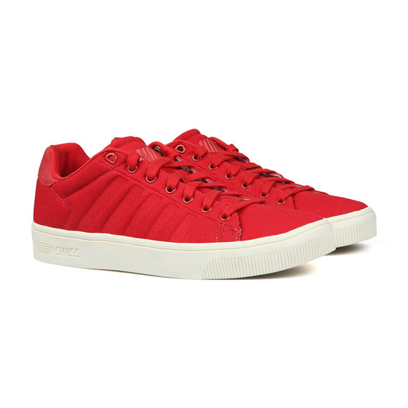 K Swiss Mens Red Court Frasco CVS Trainer  main image