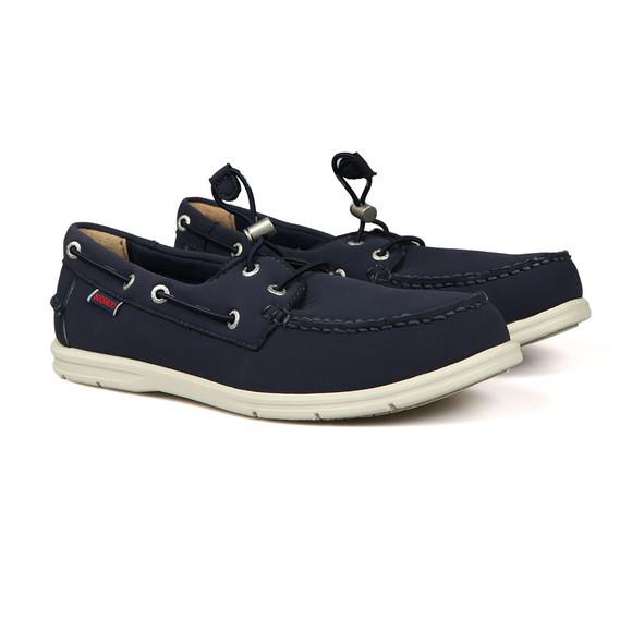 Sebago Mens Blue Litesides Two Eyelet Neoprene Boat Shoe main image