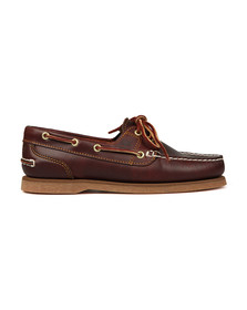 Timberland Womens Brown Amherst 2 Eye Boat Shoe