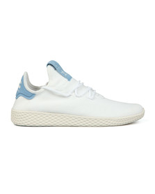 Adidas Originals Mens White PW Tennis HU Trainer