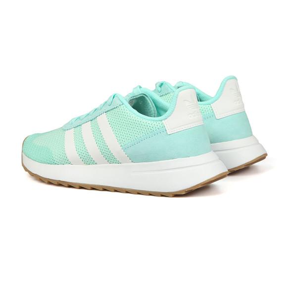 Adidas Originals Womens Green Flashback W Trainer main image