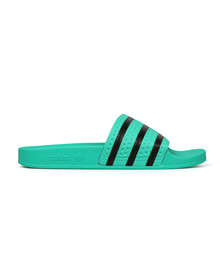 Adidas Originals Mens Green Adilette Flip Flop