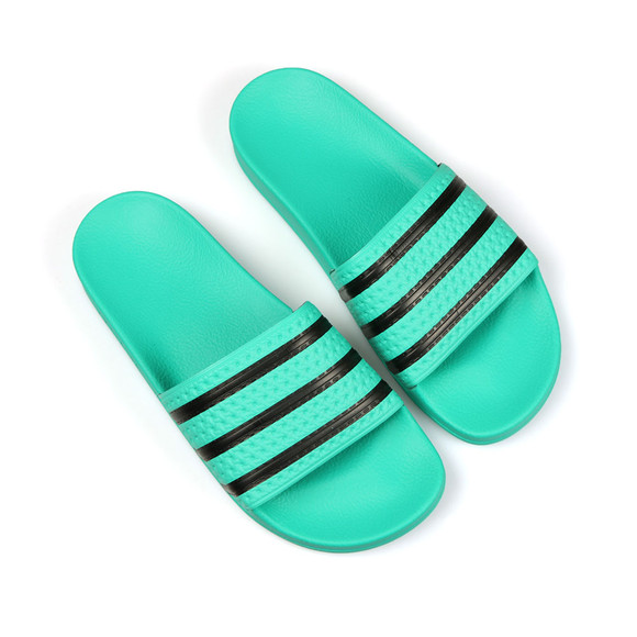 adidas Originals Mens Green Adilette Flip Flop main image