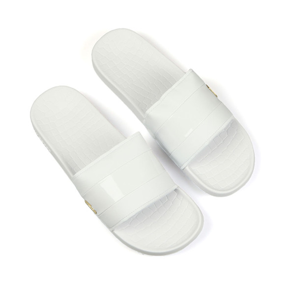 Lacoste Mens White Frasier 118 1 U CAM Slides main image