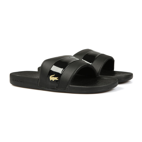 Lacoste Mens Black Frasier 118 1 U CAM Slides main image