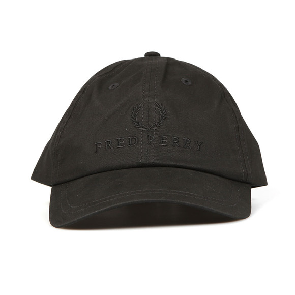 Fred Perry Mens Black Tonal Tennis Cap main image