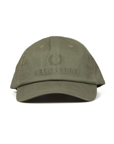 Fred Perry Mens Green Tonal Tennis Cap