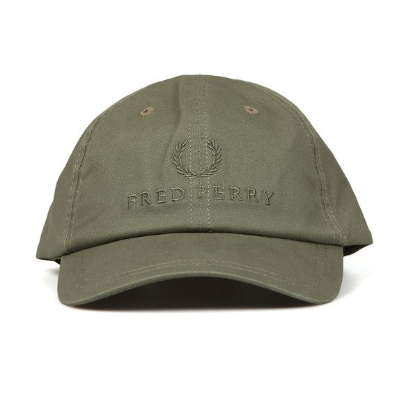 Fred Perry Mens Green Tonal Tennis Cap main image