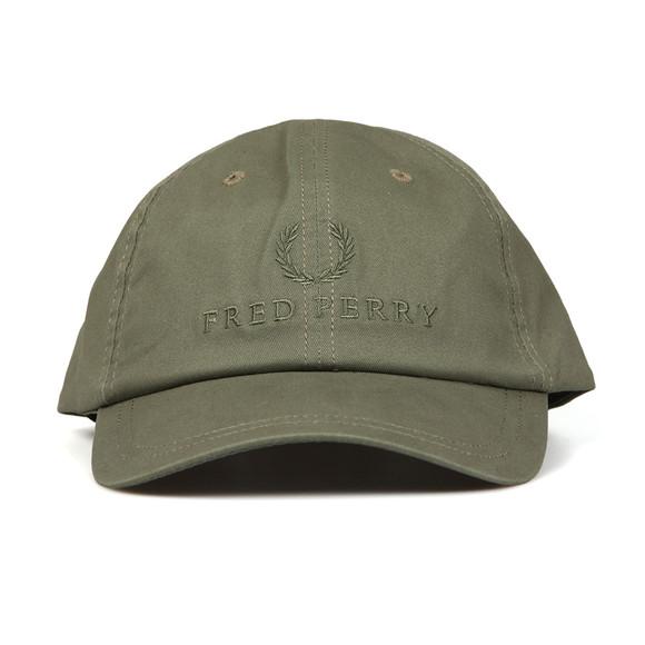 Fred Perry Mens Green Tonal Tennis Cap main image