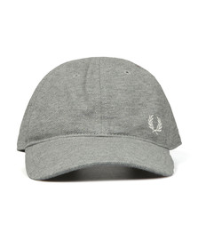 Fred Perry Mens Grey Pique Classic Cap