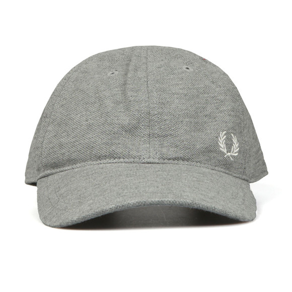 Fred Perry Mens Grey Pique Classic Cap main image