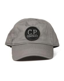 CP Company Mens Grey Goggle Viewfinder Cap