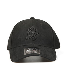 Gym King Mens Black Suede Pitcher Cap