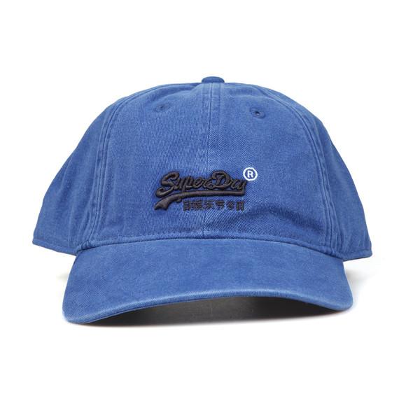 Superdry Mens Blue Orange Label Cap main image
