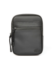 Lacoste Mens Black S Flat Crossover Bag