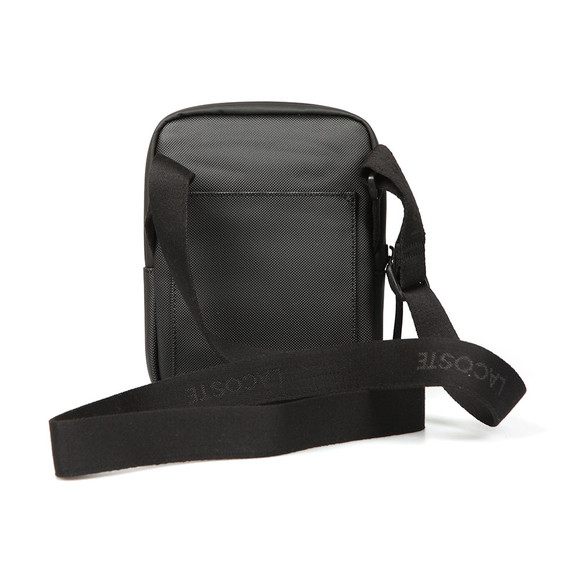 Lacoste Mens Black S Flat Crossover Bag main image