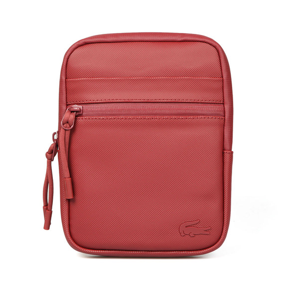 Lacoste Mens Red S Flat Crossover Bag main image