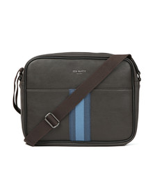 Ted Baker Mens Brown  Delano Webbing Dispatch Bag