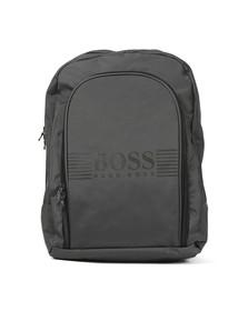 Boss Boys Grey J20200 Logo Backpack
